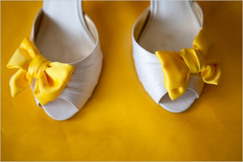 Yellow_Bow_Wedding_Shoes