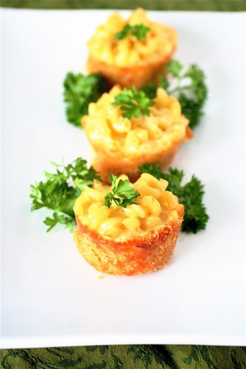 Mini Mac and Cheese Appetizer